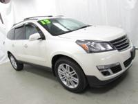 2013 Chevrolet Traverse LT 1LT White Recent Arrival!