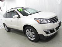 2013 Chevrolet Traverse LT 1LT White Recent Arrival!