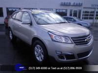 Options:  2013 Chevrolet Traverse 1Lt|Champagne Silver
