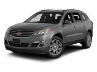 2013 Chevrolet Traverse LT. Don't let the miles