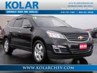 This 2013 Chevrolet Traverse LTZ is for Chevrolet fans