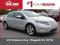 New Price! 2013 Chevrolet Volt in Silver Ice Metallic