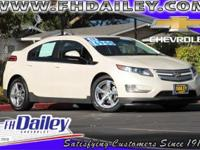 Options:  2013 Chevrolet Volt Base|White|Just Arrived!!