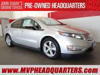 2013 Chevrolet Volt. Clean condition, fun to drive and