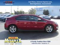 Just Reduced! This 2013 Chevrolet Volt in Red is well