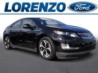 Options:  2013 Chevrolet Volt Premium|Black/|V4 1.4L
