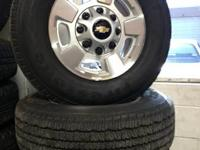 "2013 Duramax 2500HD 17"" Factory take off wheels and"