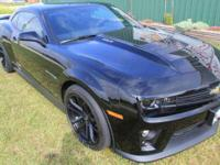 2013 Chevrolet Camaro ZL1 Supercharged Low Miles with