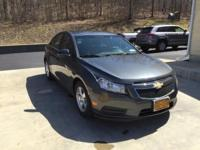 2013 Chevy Cruze !lt in cyber gray metallic, jet black