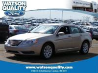 Our 1-Owner 2013 Chrysler 200 shown here in beautiful