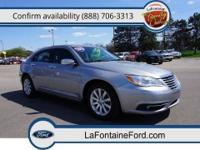New Arrival! *CarFax One Owner!* This 2013 Chrysler 200