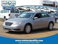 Our 2013 Chrysler 200 shown here in beautiful Billet