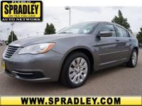 2013 Chrysler 200 4dr Car LX Our Location is: Spradley