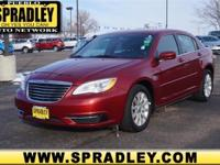 This outstanding example of a 2013 Chrysler 200 Touring