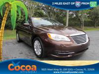 This 2013 Chrysler 200 Touring in features: Recent