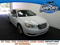 New Price! Bright White 2013 Chrysler 200 Limited FWD