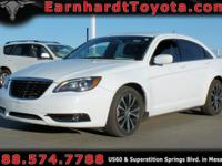 We are pleased to offer you this 2013 CHRYSLER 200