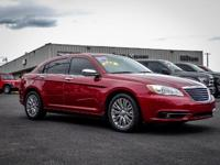 Outstanding design defines the 2013 Chrysler 200! This