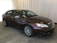 This 2013 Chrysler 200 was just traded in. This vehicle