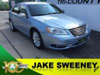 Our 2013 Chrysler 200 Limited is beautiful in Blue! It