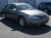 Gray 2013 Chrysler 200 Limited FWD 6-Speed Automatic