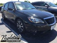 2013 Chrysler 200 in Black, Bluetooth, Aux Connection,