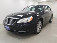 2013 CHRYSLER 200..LIMITED PACKAGE..LOADED..LEATHER