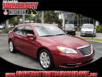 200 LX, 4D Sedan, Deep Cherry Red Crystal Pearlcoat,