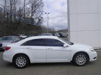 Options:  2013 Chrysler 200 Lx|White|2.4L 4