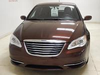 Options:  2013 Chrysler 200 Lx|Features Include Am/Fm