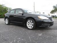 Black Clearcoat 2013 Chrysler 200 LX FWD Automatic 2.4L