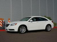This white 2013 Chrysler 200 LX has everything you