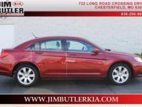 Drivetrain: Engine: 2.4L Exterior Color: Deep Cherry