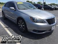 Recent Arrival! 2013 Chrysler 200 in Billet Silver