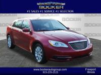 For a smoother ride, opt for this 2013 Chrysler 200