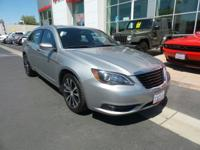 New Arrival! This 2013 Chrysler 200 Touring, has a