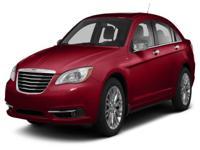 Options:  2013 Chrysler 200 Touring|For Internet