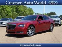 This smooth-riding 2013 Chrysler 300 S provides