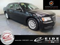 This 2013 Chrysler 300 is Gloss Black exterior with