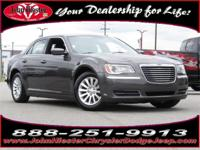 Options:  2013 Chrysler 300 Base|Gray|Certified