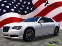 CARFAX One-Owner. Clean CARFAX. White 2013 Chrysler 300