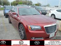 Drivers only for this sexy and agile 2013 Chrysler 300