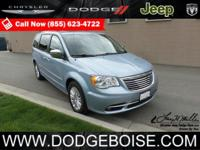 2013 Chrysler Town & Country Limited LEATHER DUAL