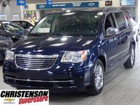 2013+Chrysler+Town+%26+Country+Touring-L+In+True+Blue+P