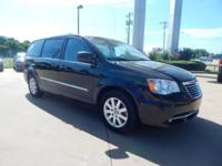 Brilliant Black Crystal Pearl 2013 Chrysler Town &