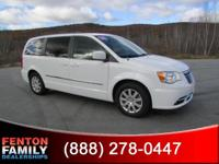 Step into the 2013 Chrysler Town Country! The safety