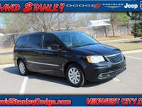 Leather. Your lucky day! Nice van! Chrysler's Town and