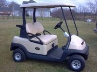This is a brand new 2013 Club Car Precedent golf cart