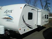 2013 Coachmen Apex M-278RLS Travel Trailer. Length