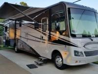 2013 Coachmen Mirada 35DL in like-new condition. Less